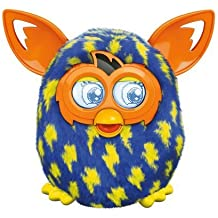 Furby Lightning Bolts Boom Plush Toy by Furby (English Manual) [habla inglés, no compatible con app española]
