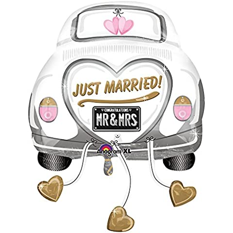 Just Married auto Foil Palloncino