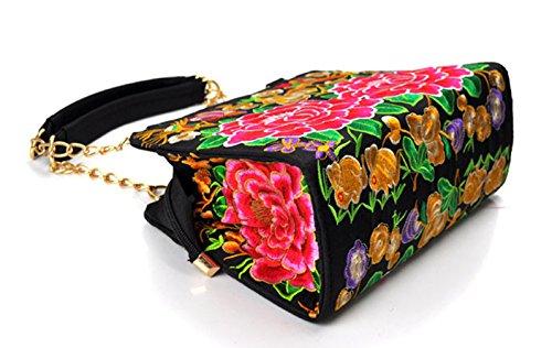 Keshi Nouveau style - Sac à main femmes - Porté MAIN et EPAULE Multicolore 4