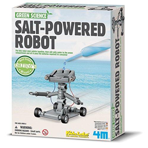 4M 68497 - Green Science, Salt Powered Robot