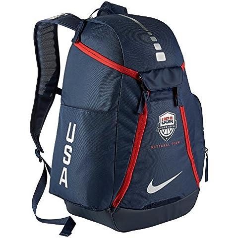 Nike Hoops Elite Max Air Team - Mochila para hombre, color azul, talla única