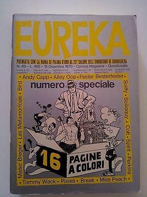 Eureka n. 45 1970 (Andy Capp/Alley Oop) Ed.Corno FU05
