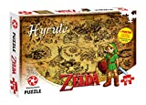 Winning Moves 29490 Puzzle The Legend of Zelda Hyrule Field, 500 Pezzi