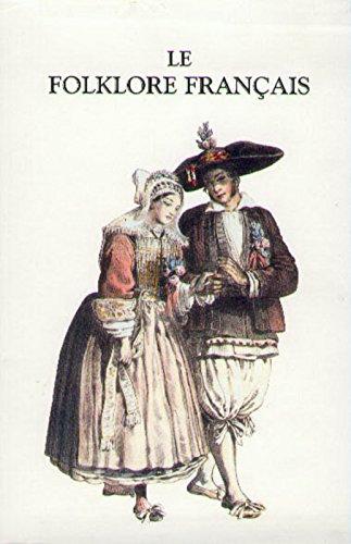 Le folklore français (coffret de 4 volumes)