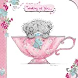 Thinking of You Tatty Teddy in Teacup Me to You Bear Card