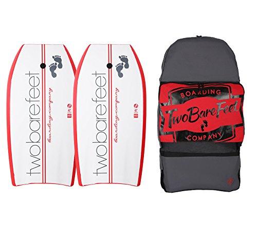 42Zoll Bodyboard-Set,2x TBF-Boarding Co Bodyboards und Tragetasche, Red / Red / Red