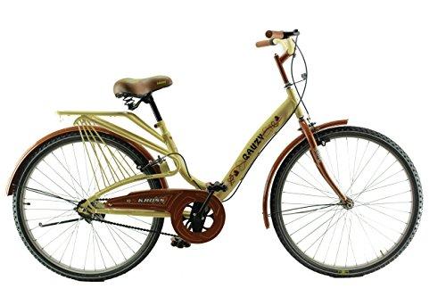 Kross Gauzy 26 Cream&Brown Steel Unisex Hybrid Cycle