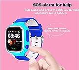 [Smartwatch Montre Connectées] Android Smartwatch Bluetooth 4.0 Multi-Languages Smart Watch Bande Smart Bracelet Montre Intelligent Compatible avec Android Smartphones idéal Cadeau pour Amis, Enfant, Parent