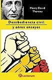 Desobediencia civil y otros ensayos