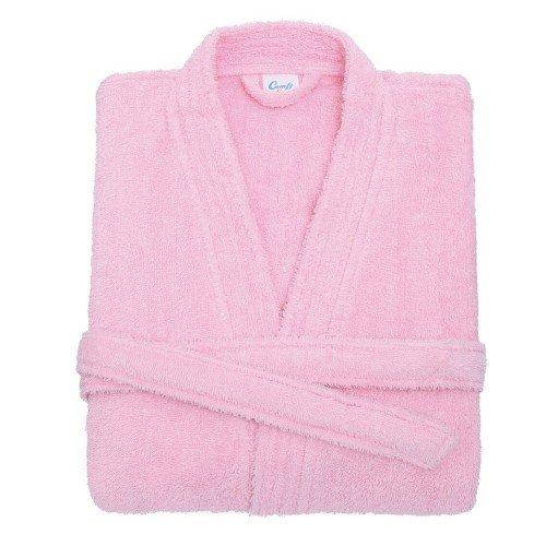 Comfy Co - Albornoz para niños (3/4 años/Rosa pálido)