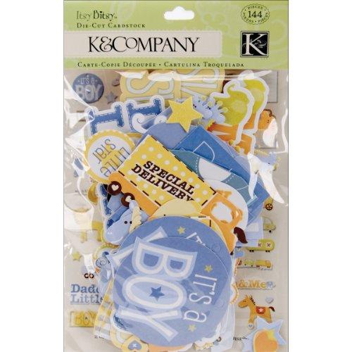 Unbekannt K&Company Baby Boy Diecuts -
