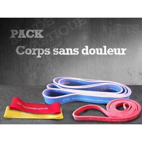 Pack bandes élastiques Corps sans douleur