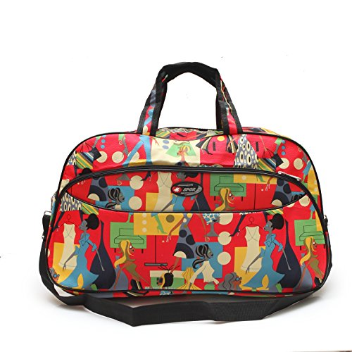 Bazaar Pirates Luggage Travel Duffle Or Gym / Multi Purpose Utility Printed Bag ( 21\