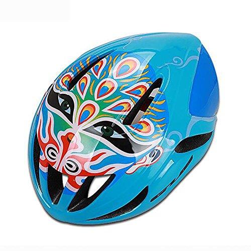 MIAO Fahrradhelm - Outdoor chinesischen Stil Drama Maske Männlich und weiblich Berg / Rennrad Fahrradhelm (EPS Schaumstoff + PC Shell) , E