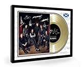 We Love Guitars Runrig Loch Lomond Final Mile Framed Goldene Schallplatte Display Premium Edition (O)