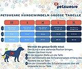 Petsweare wasserdicht saugfähigkeit waschbare robuste Wiederverwendbare Hundewindeln läufigkeitshose inkontinenzunterlage für weiblichen Welpe und Hündinnen 3 Pack (X-Small, Scottish Lila)