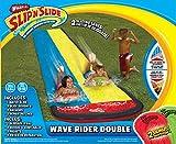 Wham-O-o Slip 64120e Slide Double Wave Rider con materassini