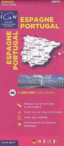 Esp01 Espagne/Portugal 1/800.000 par inconnu