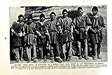 TRIBU des HOMMES POOPO ORURO BOLIVIE QUICHUA de c1920 QUICHUA