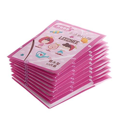100 Stück Bandagen für hemostatische Zeichentrickfilme, wasserfest, selbstklebend für Kinder