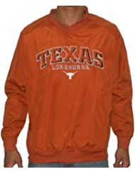 NCAA Texas Longhorns hommes Jersey Jacket with Emboridered Logo