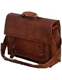 Bag House Leather Laptop Bag/Bagpack/Satchel Messenger Bag/Office Bag/Briefcase For Men/Women/Ladies/Boy/Boys/...