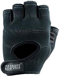 C.P. Sports Power F4-1 - Guantes deportivos para hombre y mujer, gran comodidad, ideales para practicar deporte, color negro Talla:small