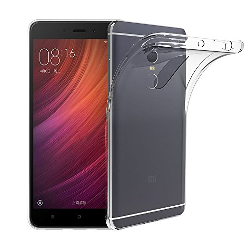 Funda Carcasa Gel Transparente para XIAOMI REDMI NOTE 4, Ultra Fina 0,33mm,...