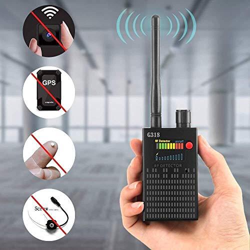 Detector de señal de la señal del detector anti espía inalámbrica del GPS, detector de cámara oculta...
