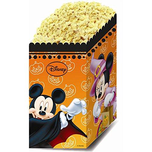 4er Pack Popcorntüten Micky Maus Halloween.