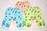 #9: Littly Cotton Baby Pajamas/Leggings, Pack of 3 (Multicolor)