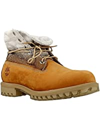 Timberland Roll Top, Bottes Homme, Marron (Wheat), 47.5 EU