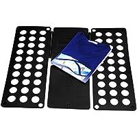 Takit FB5 - Tavola Piega Indumenti - Tavola Piega Camicie - Piega Abiti Pantaloni Asciugamani T-shirt / Tavola Piega Indumenti Per Riordinare la Lavanderia (Nero)