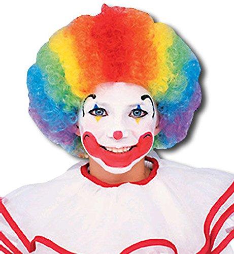 Clown bambino parrucca multi color