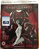 Ghost In The Shell 4K Ultra HD + Blu Ray Limited Edition Steelbook / Import / Zavvi Release.