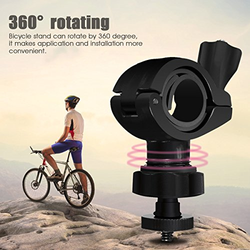 ELEGIANT Lautsprecher Halterung Halter Ständer für Bleutooth Lautsprecher auf dem Fahrrad Rad usw