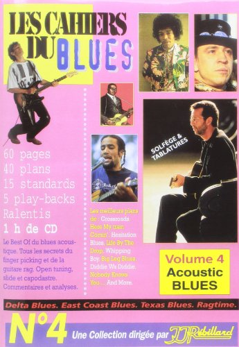 Cahiers du Blues Vol4 Acoustic Blues Tablatures + CD