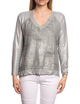 [Patrocinado]Abbino 7112-3 Camisas Blusas Tops para Mujeres - Hecho en ITALIA - 6 Colores - Entretiempo Primavera Verano Otoño...