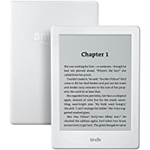 "Certified Refurbished Kindle, 6"" Glare-Free Touchscreen Display, Wi-Fi (White) - Includes Special Offers"