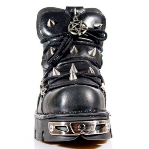 New Rock Boots Unisexe Botte - Style 110 S1 Noir Noir