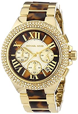 Michael Kors 0 - Reloj de cuarzo para mujer, con correa de acero inoxidable, color dorado