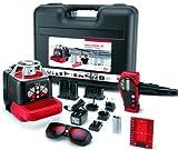 Leica Roteo 35 - Nivel láser rotativo autonivelante con soporte para muros motorizado (alcance hasta 150 m con receptor)