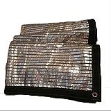 Schattierungsnetz Wang Sonnencreme Isolierung Sonnenschirm Aluminiumfolie Netz Balkon Dachgarten Sonnencreme Multi-Größe (größe : 2X3m)