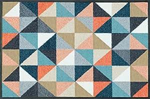 Wash+Dry Tapis Scania Small Squares 50x75, Coloré