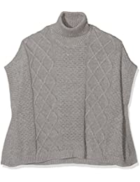 NAME IT Mädchen Pullover Nitwaluka Knit Poncho Nmt