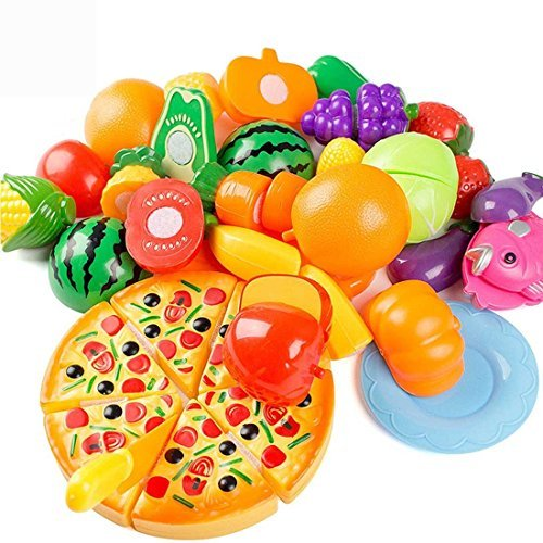 Kingdommax Kitchen Toy Food, 24P...