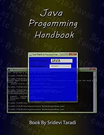 Java Programming Handbook: Advanced java program book with video  demonstrations