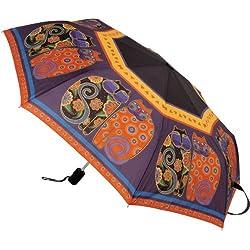 Laurel Burch Laurel Burch de gatos de lunares, 'Stick paraguas