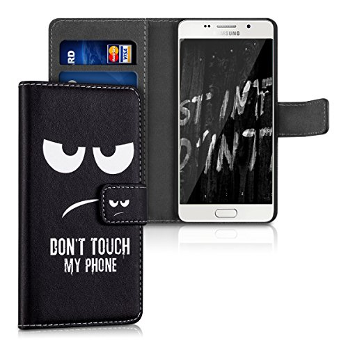 kwmobile Samsung Galaxy A5 (2016) Hülle - Kunstleder Wallet Case für Samsung Galaxy A5 (2016) mit Kartenfächern und Stand