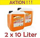Arancione Pulitore Concentrato 2X 10L Smacchiatore orangenoel sgrassante detergente per pavimenti universale Pulitore Forza